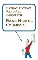 Extra Extra Rare Nickel Found