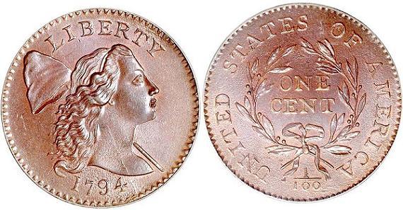 1794 Liberty Cap Penny