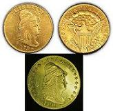 1796 Turban Head gold quarter eagle