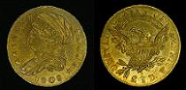 1808 Capped Bust Quarter Eagle