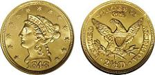 California Gold Coin