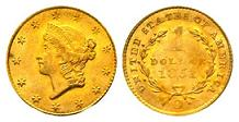 1851-O Liberty Head Gold Dollar