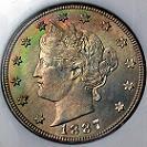 1887 Liberty Head Nickel