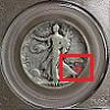 Walking Liberty Half Dollar Mintmark