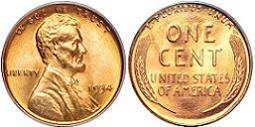 1934 Lincoln Wheat Cent