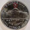 1943 P Wartime Nickel