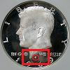 1968 and up Kennedy Half Dollar Mintmark