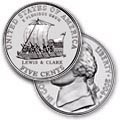 2004 P Jefferson Nickel Keelboat