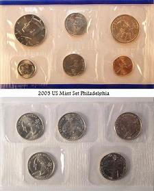2005 U.S. Mint Set Obverse