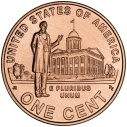 2009 Lincoln Cent Professional Life in Illinois Reverse