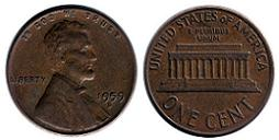 1959 Lincoln Penny