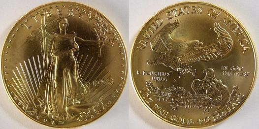 Krugerrand American Gold Eagle
