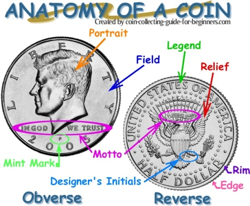 Anatomy of a Coin - Coin Terms