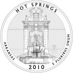 2010 Arkansas Quarter - Hot Springs National Park