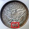 Barber Quarter Mintmark