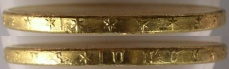 Saint-Gaudens Gold $20 Double Eagle - Edge View