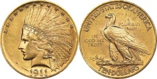 Indian Head Eagle - With Motto