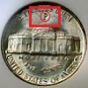 Jefferson Nickel 1942-45 Mintmark