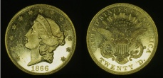 Liberty Head $20 Double Eagle - with motto