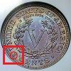 Liberty Head Nickel (V Nickel) Mint Mark