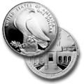 1984 S Los Angeles XXIII Olympiad Coliseum Commemorative Silver Dollar