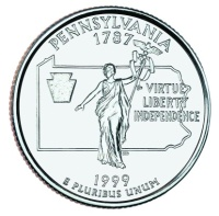 Pennsylvania State Quarter