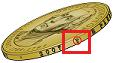 Presidential Dollar Mintmark