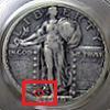 Standing Liberty Quarter Mintmark