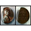 Struck fragment lincoln cent Coin Error