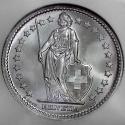Swiss Silver 2 Francs