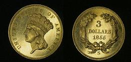 Three-Dollar Gold Piece