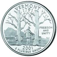 Vermont State Quarter