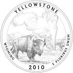 2010 Wyoming Quarter - Yellowstone National Park
