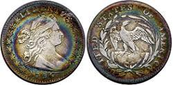 1796 Draped Bust Half Dime