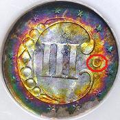 1851_O_Silver_Three_Cent