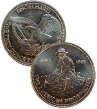 1985 Engelhard American Prospector silver round