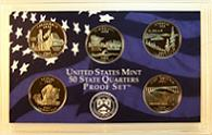 2005 S 50 State Quarters Proof Set