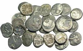 3rd-1st century BC Ancient Silver Greek Coins