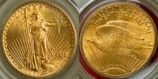 Saint-Gaudens Gold $20 Double Eagle - with Motto