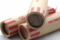 Rolls of Pennies