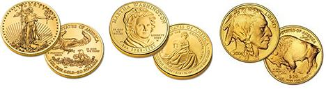 United States Gold Bullion Coins