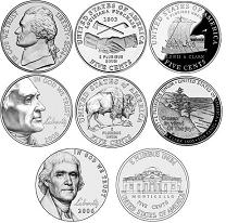 Westward Journey Jefferson Nickels