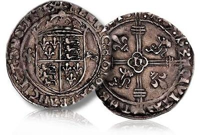 1513 HENRY 8 Brtish First Dated Coin