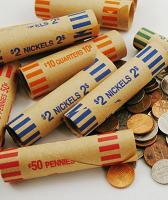 Coin Rolls for Coin Roll Hunting